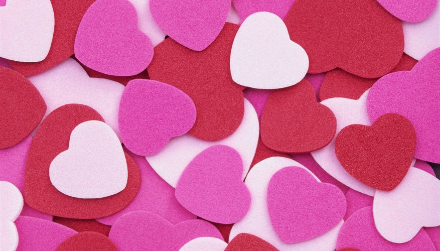 Tell your special someone how much you love them creatively.
