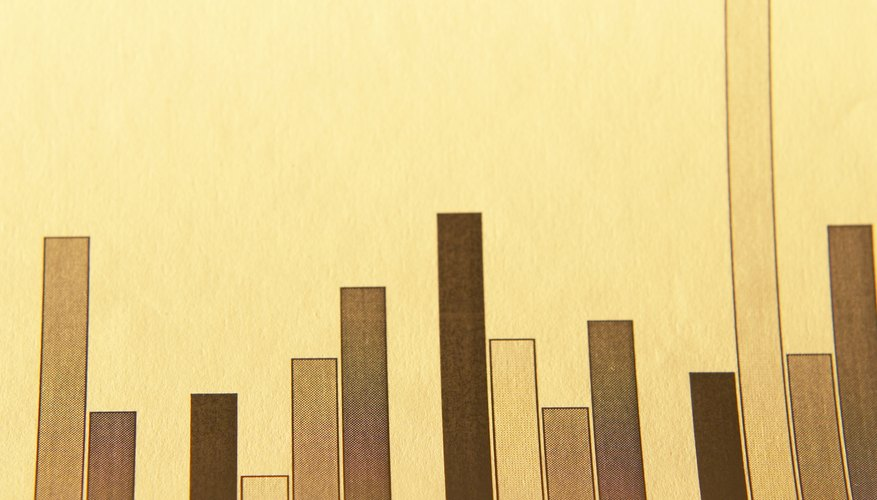 A bar graph is one way of showing comparisons in chart form.