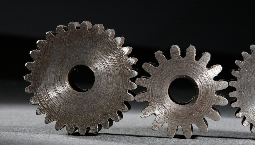 Spot gears around the house in clocks and music boxes.