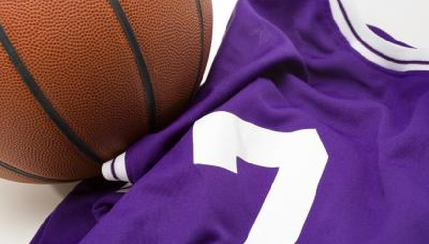 Showcase a sports jersey by mounting it on the wall.