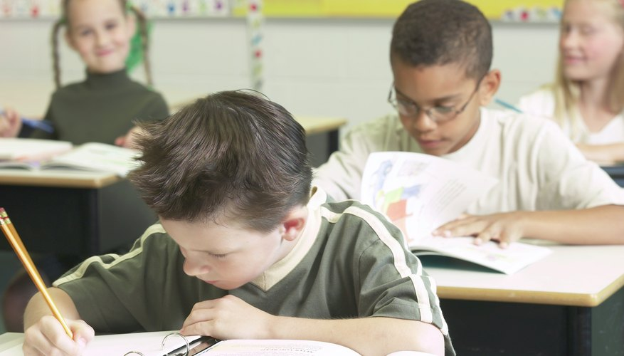 Fifth-grade students can practice their writing skills by keeping daily journals.