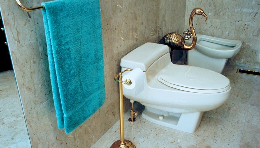 It is common practice to have the toilet and the bidet side by side.