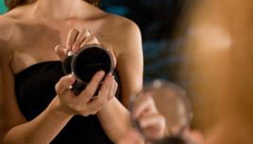 Mirrors are a vain girl's constant companion.