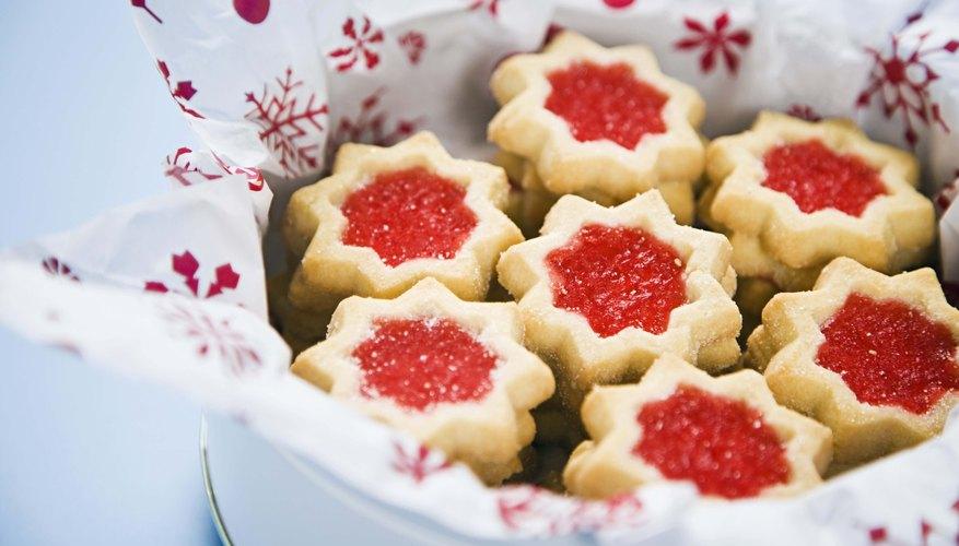 Send a tin of Christmas cookies.