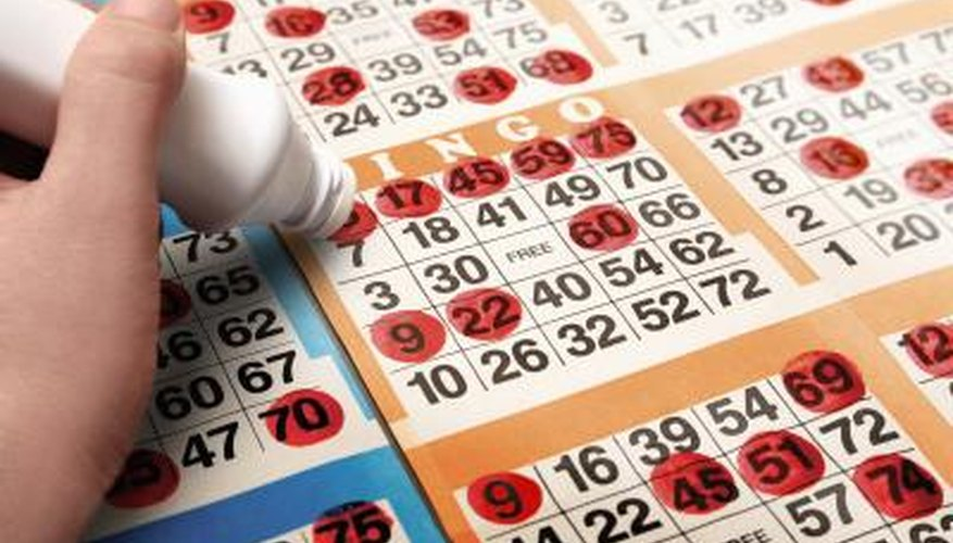 Bingo games have a prize or payout rewarded to the winners.