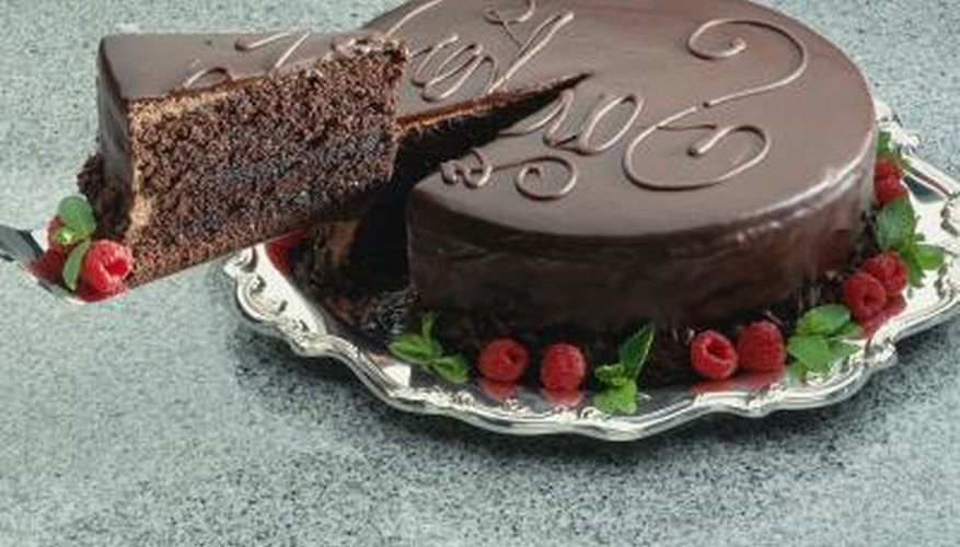 The fat in chocolate fondant gives it shine. Use the same idea to make any fondant lustrous.