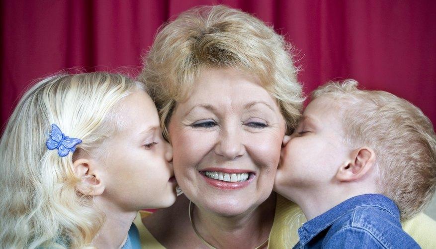 Hearing Grandma speak German can teach kids correct pronunciation.