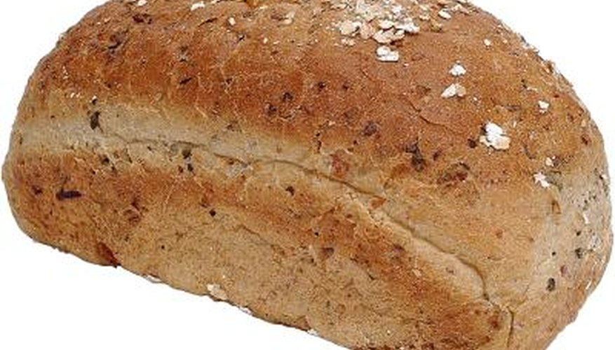 Using self-rising flour in a bread machine can create a light and airy loaf.