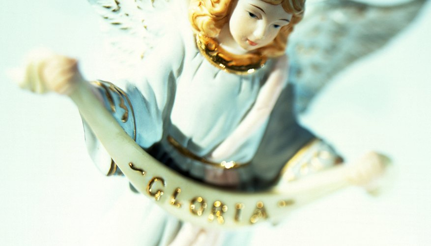 Angels are used symbolically in tales and music to represent heaven.