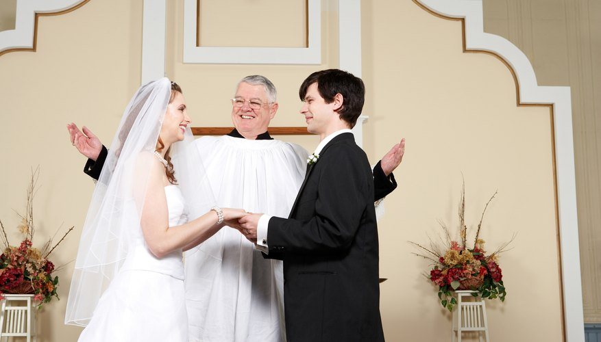 Many ministers consider it an honor to conduct a wedding ceremony.