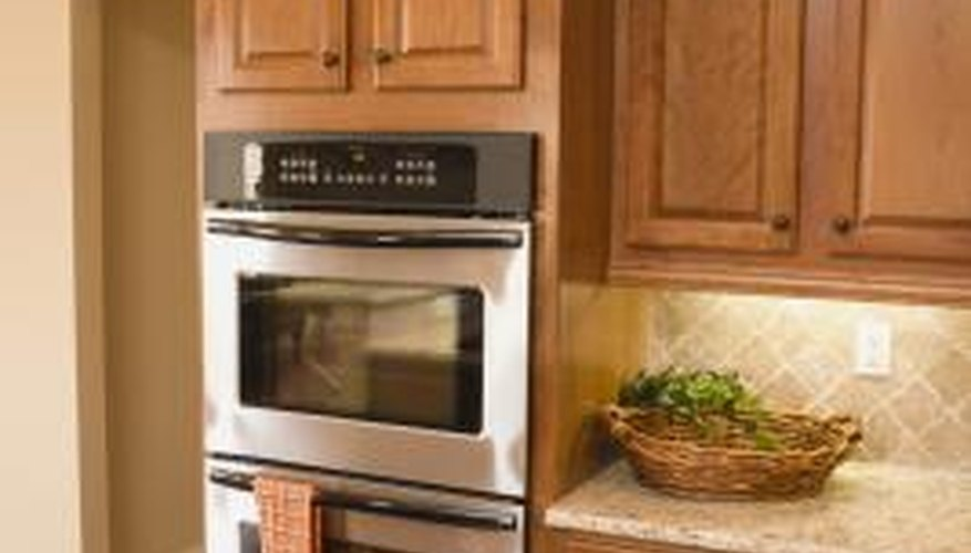 Use this simple method to remove baked on carbon in your oven.