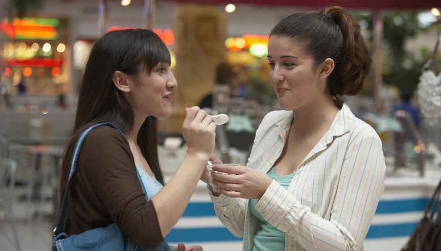 Receiving a compliment inspires positive behavior in you and your friend.