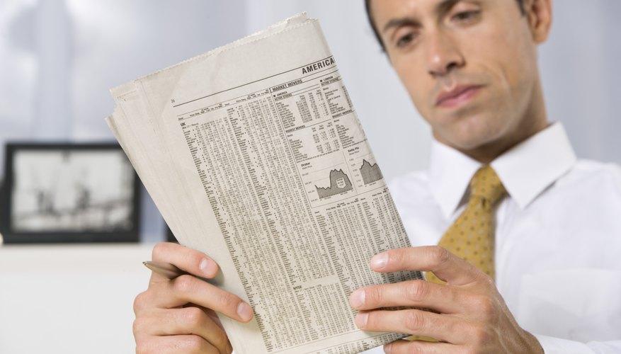 Un cotizador típico por lo tanto se verá así: XYZ US$24,10 oferta, US$24,20 demanda.