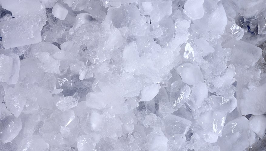 The first ice box used packed ice to keep contents cold.