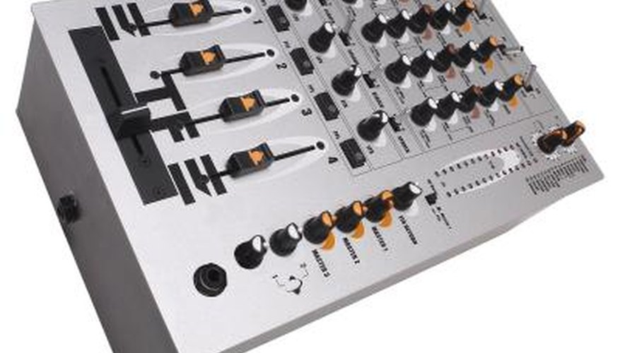 Equalisers are also used in home stereos and recording booths.