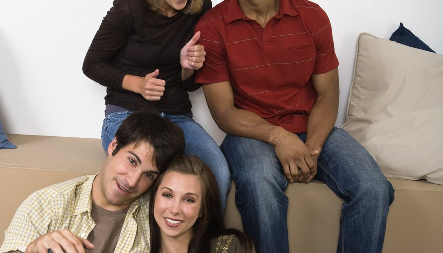 Coed dorms allow male and female students to get to know one another.
