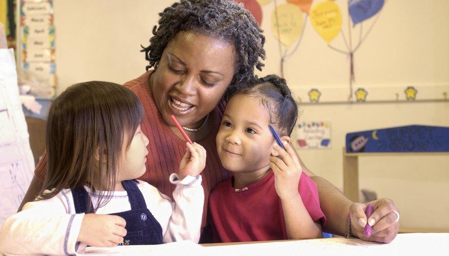 Kindergarten teachers should include hands-on activities.