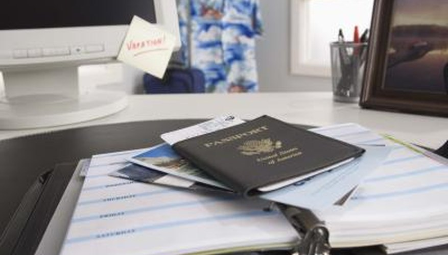 Background checks verify your identity and eligibility to leave the country.
