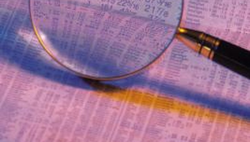 The factors affecting share prices can be both internal and external.
