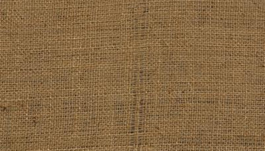 Burlap fabric is strong and breathable for potato sacks.