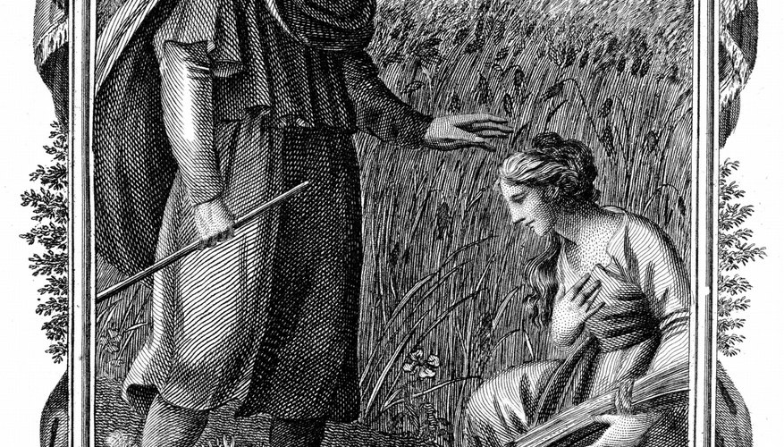 The book of Ruth in the Bible showed God's grace to all people.
