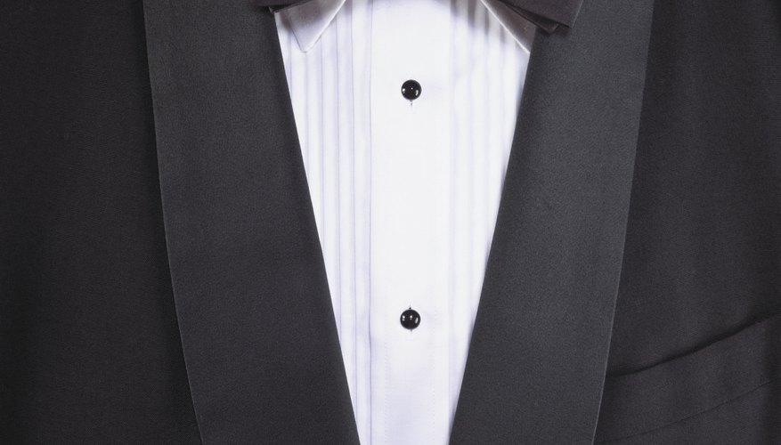 A tuxedo is not required at a black-tie-optional wedding.