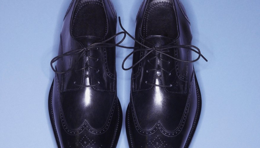 Shoe polish helps to even out colour and nourish leather so shoes stay looking bright.
