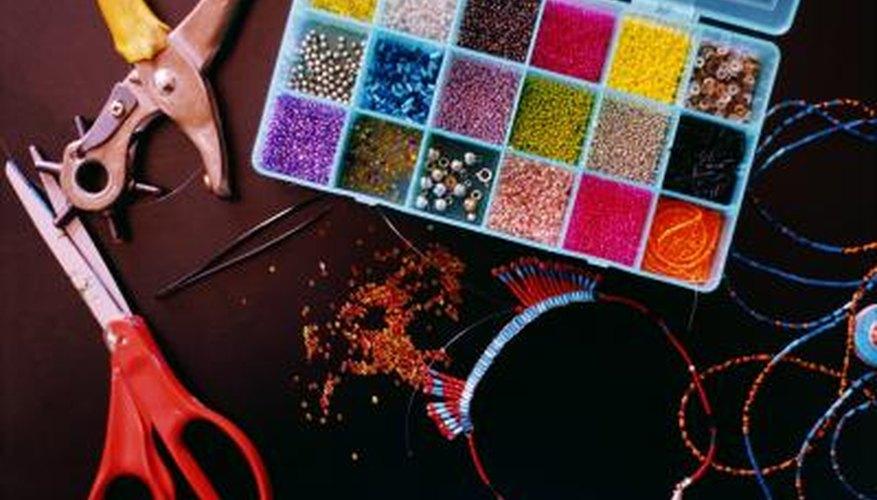 Gather craft materials.