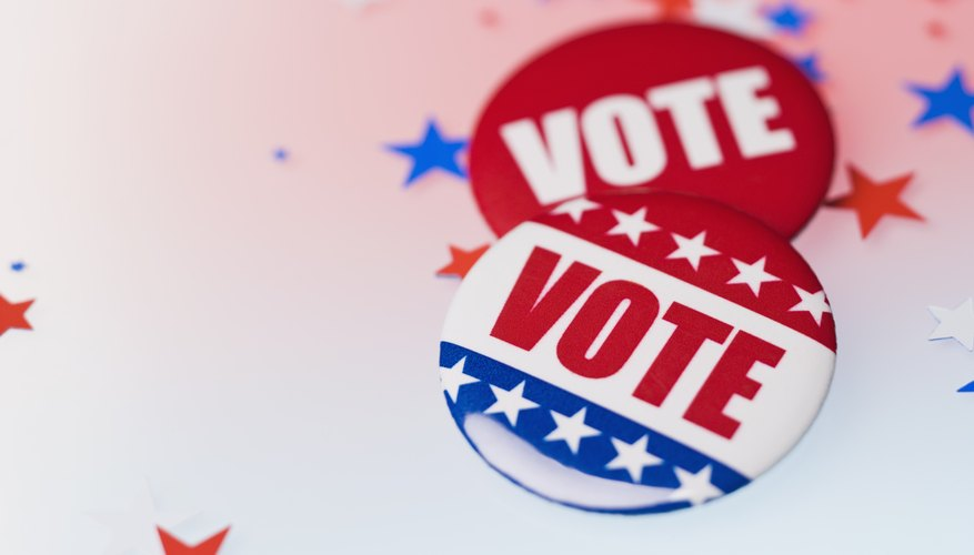 Remind people to vote before election day
