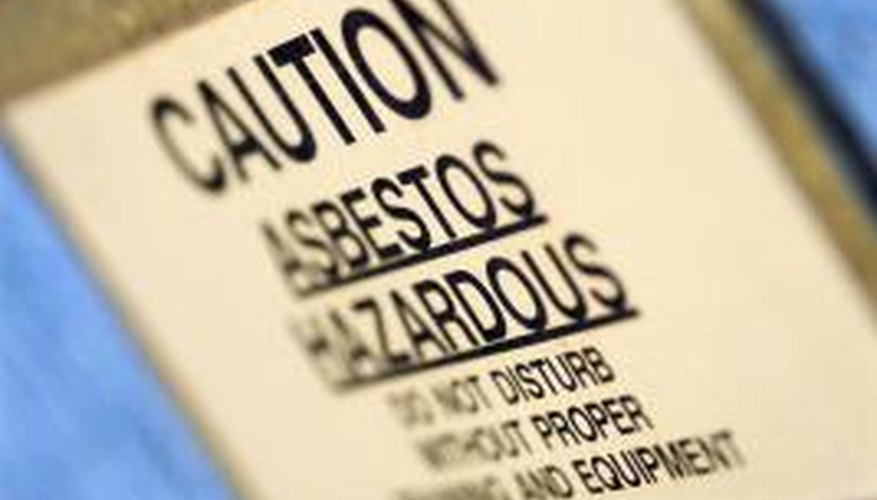 Asbestos can cause serious health problems in large doses.