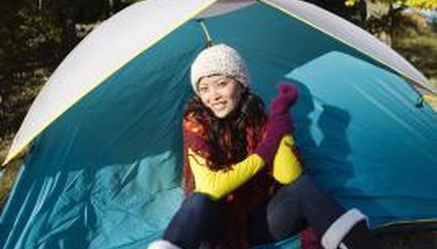 A tent free of stains and debris lasts longer.