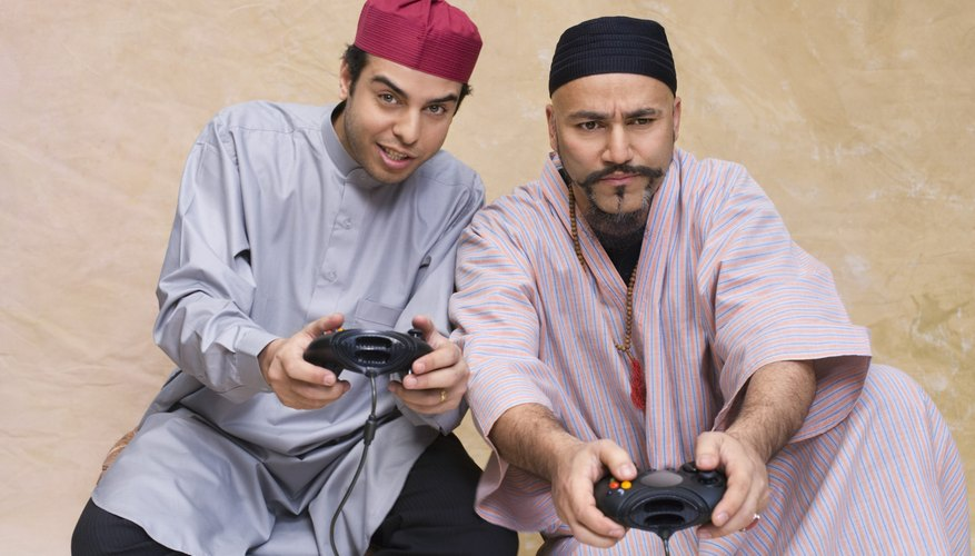 Even if that video game is an Islamic one, the kids should probably not have so much screen time.