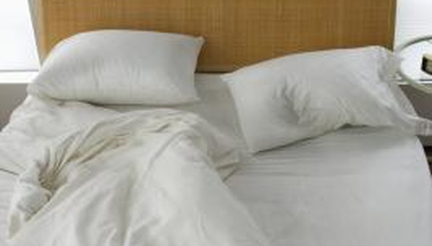 Duvet covers should be the same size as your bed and bedding.
