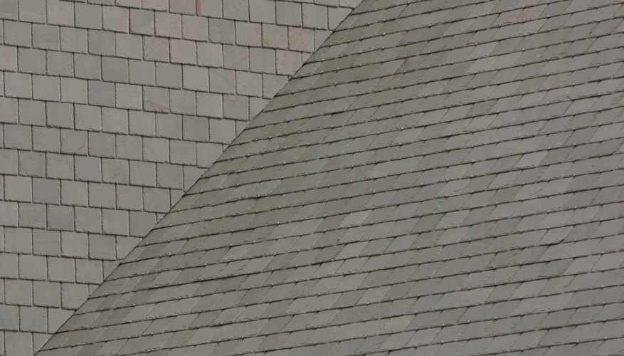 roof with two pitches