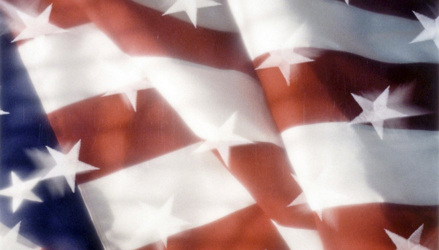 The United States didn't adopt an official flag until almost a year after declaring independence.