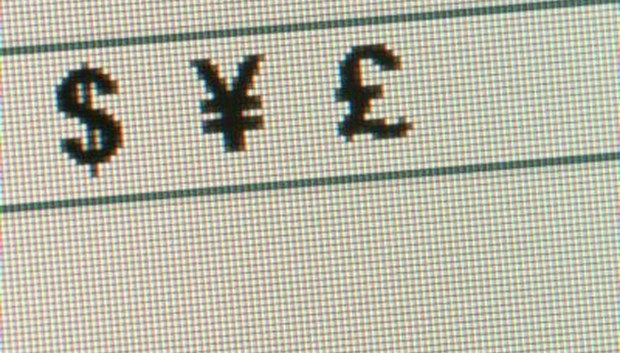 You can insert currency symbols or glyphs in your InDesign documents.