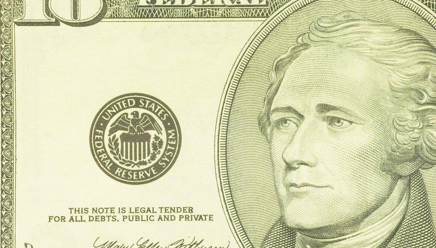 Constitutional framer Alexander Hamilton was President George Washington's Treasury Secretary.