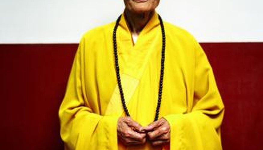 Show proper respect when meeting a Buddhist monk.
