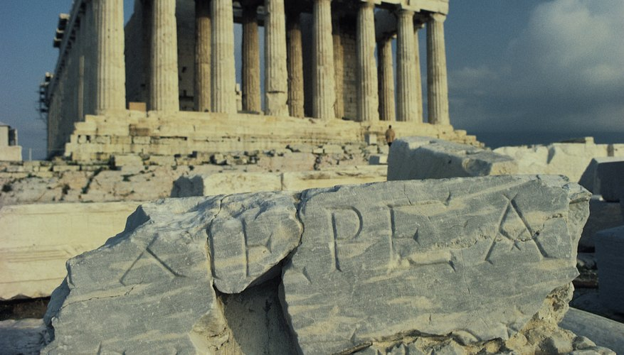 Greek politicians paved the way for modern democracy.