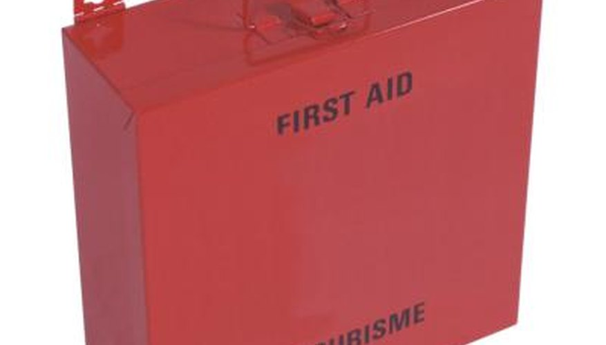 You can remove a thorn using the equipment in most first-aid kits.