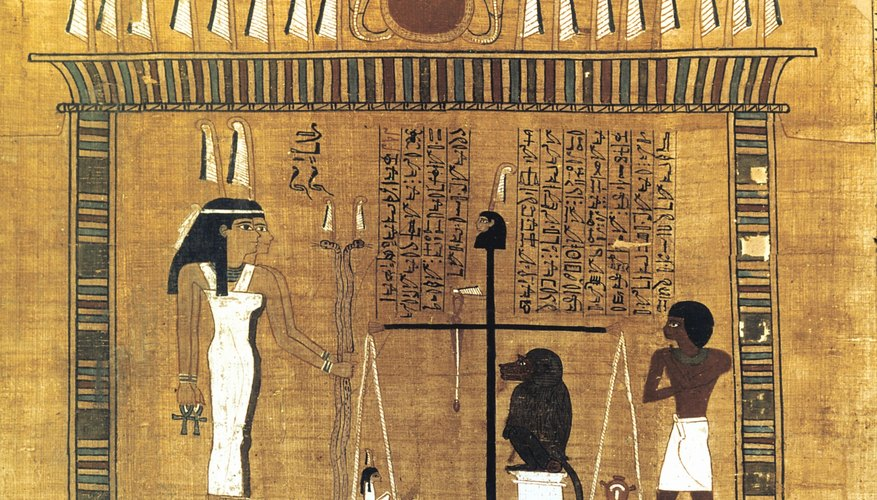 Ancient Egyptian developed many sophisticated mediums for writing.