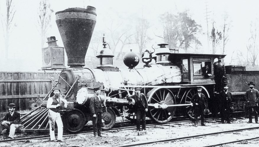 With the advent of steam, railroads outpaced other forms of mass transit.
