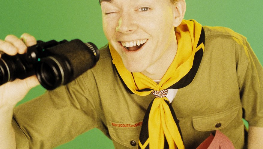 The Boy Scouts of America is teaches boys life skills.