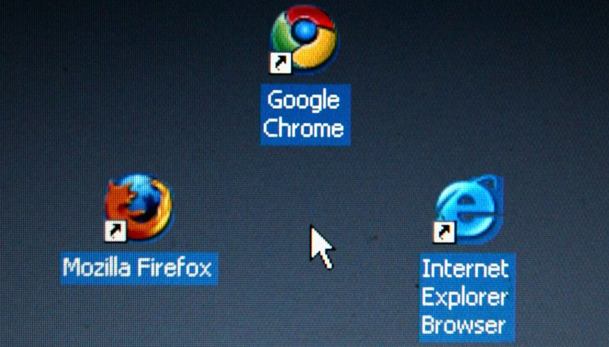 Both Chrome and Internet Explorer follow your system's file associations.