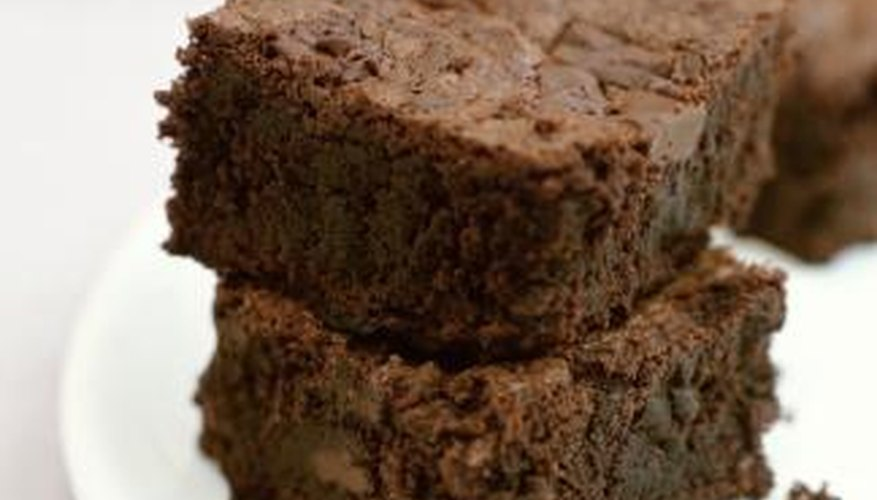 You can fix brownie batter that is too runny by adding a little flour.