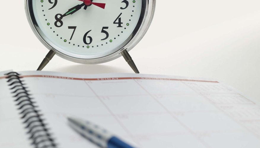 Time management lessons help students develop life skills required for success.