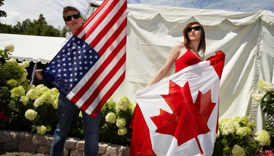 Canadian and American citizens enjoy the right to express themselves and move freely within their countries.