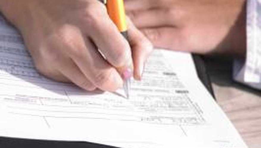Reading the form first will clue you in on what the employer is looking for.