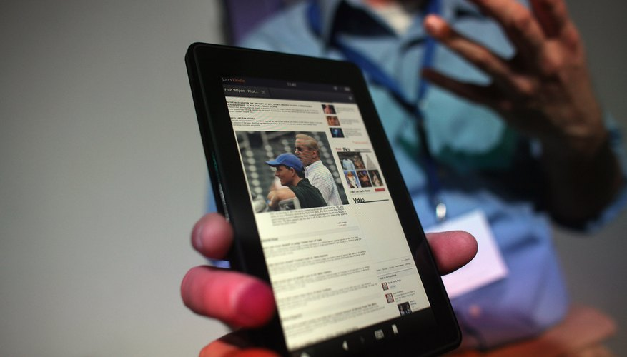 The original and second-generation Kindle Fire models are no longer available through Amazon.
