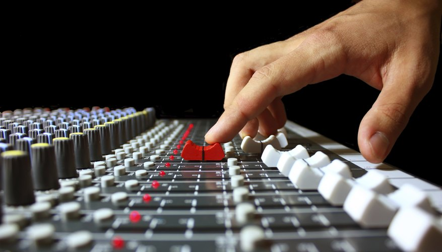 Music production involves musicianship, business and audio engineering.